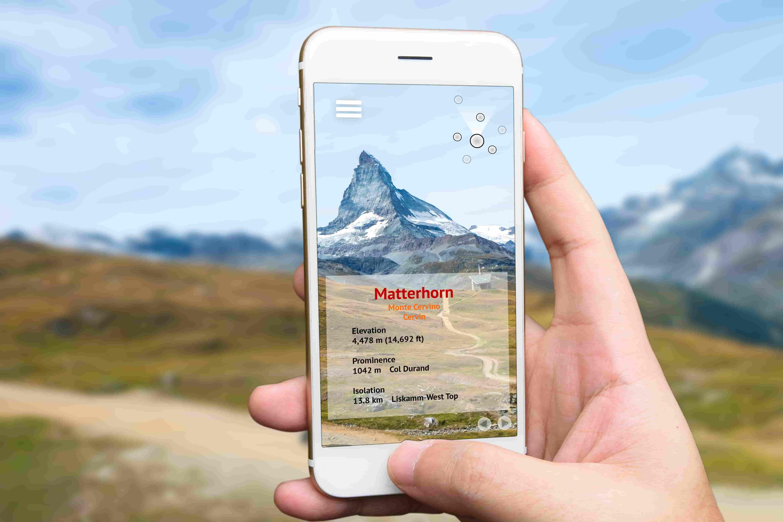 Augmented reality marketing option